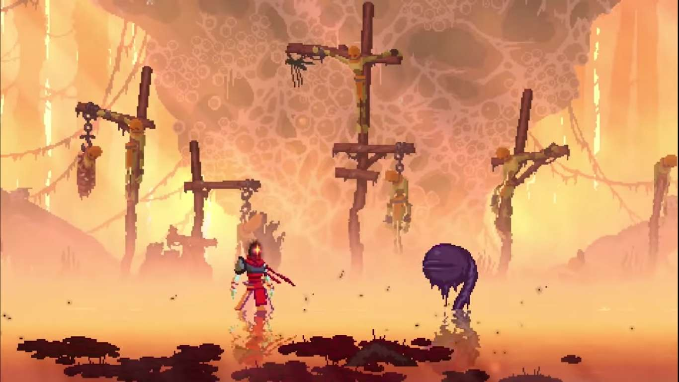 Dead Cells Fatal Falls DLC Was Shown In A Brief Trailer, Set To Release In 2021