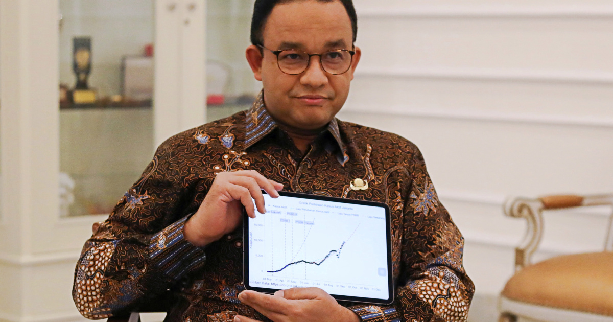 Jakarta governor Anies Baswedan tests positive for COVID-19