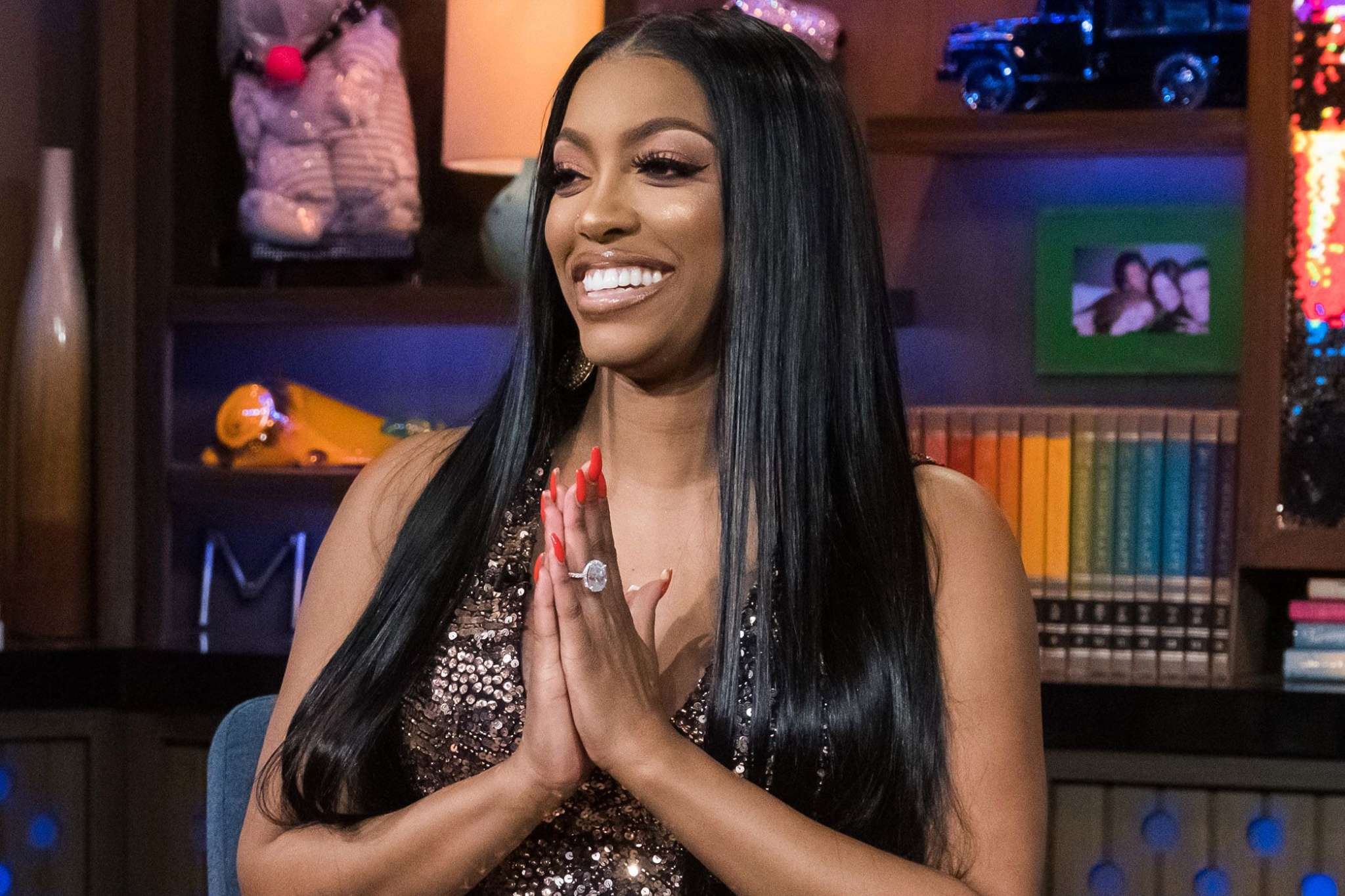 Porsha Williams Makes Fans Laugh With This Video Featuring Grinch