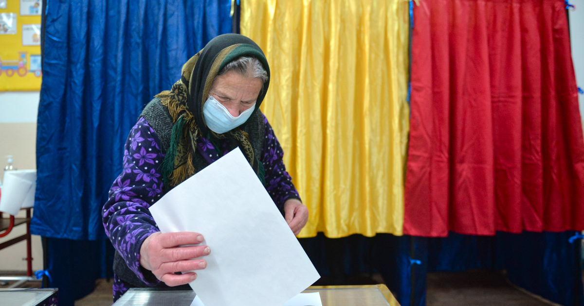 Romania election too close to call, exit polls show