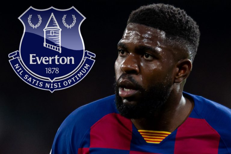 Everton eye transfer for Samuel Umtiti with Barcelona ready to slash £10.7m asking price to offload £75k-a-week flop