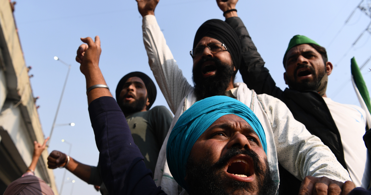 In Pictures: Indian farmers' rebellion rattles Modi gov't