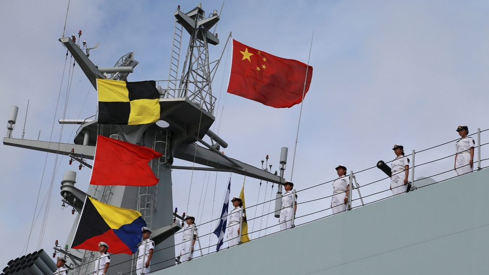 China says it is ready for NATO talks on its 'military rise'
