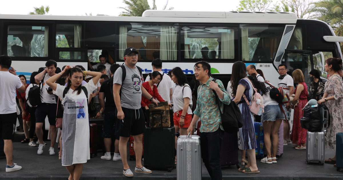China's virus-free 'Hawaii' sees tourism boom