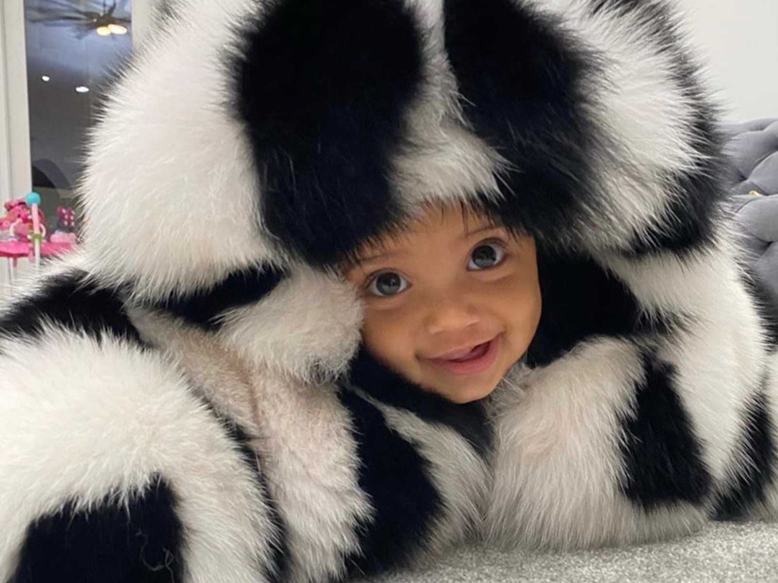 Erica Mena's Daughter, Safire Majesty Is Getting Ready For Her Frist Christmas – Check Out This Gorgeous Video Of Her