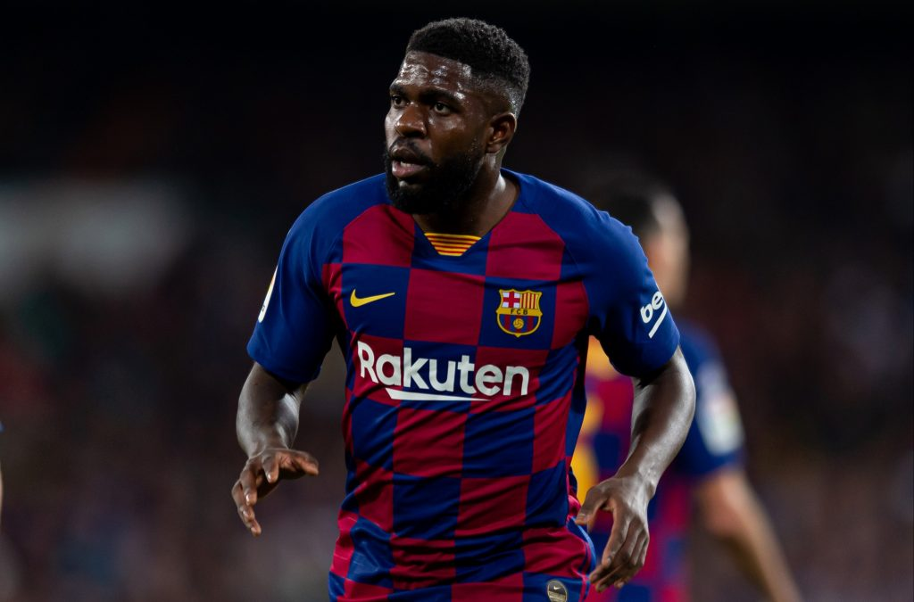 Everton are said to be interested in a move for Barcelona defender Samuel Umtiti