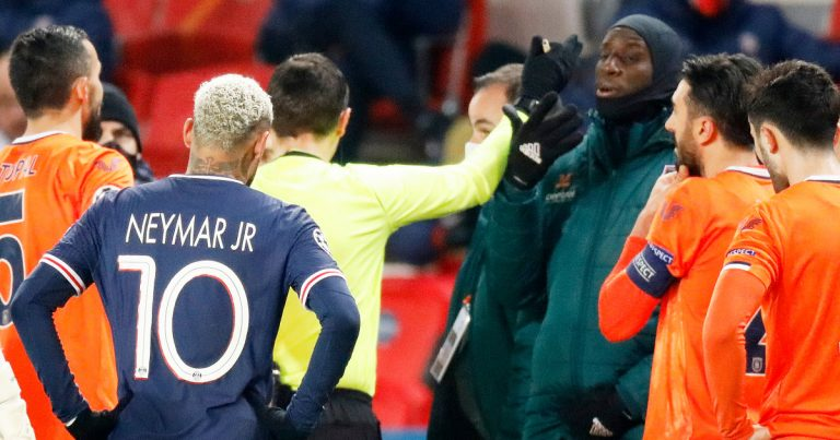 Champions League: PSG, Istanbul Basaksehir walk out over racism