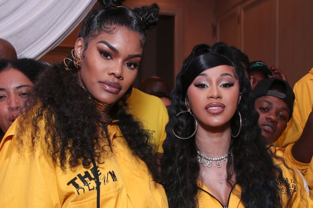 Cardi B Shows Love To Teyana Taylor After She Announces Her Retirement – Says Her Album Was Her Favorite Of 2020!