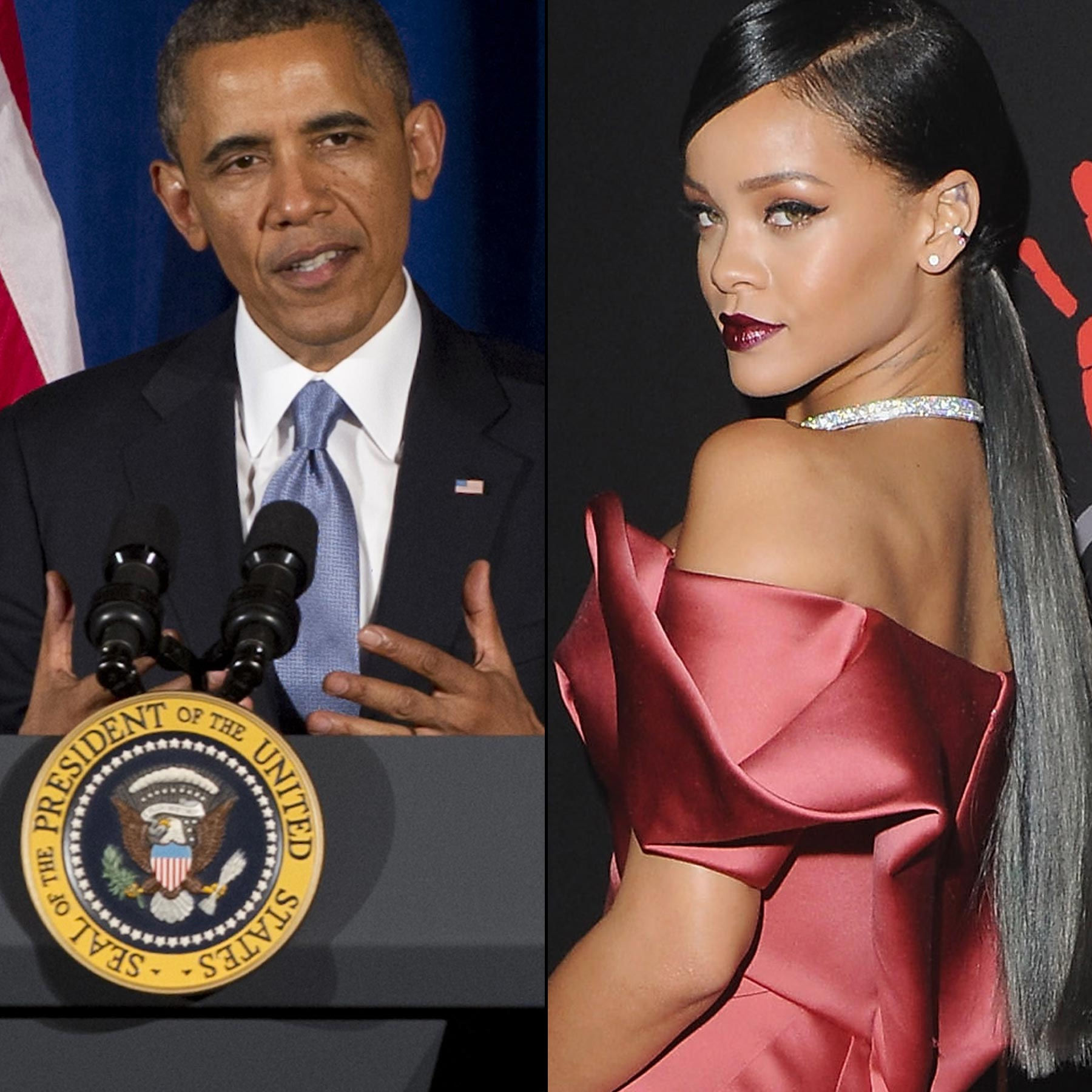 Barack Obama Says He Totally Knows All The Lyrics To Rihanna's 'Work' And Would Have No Problem Singing The 'Jam!'