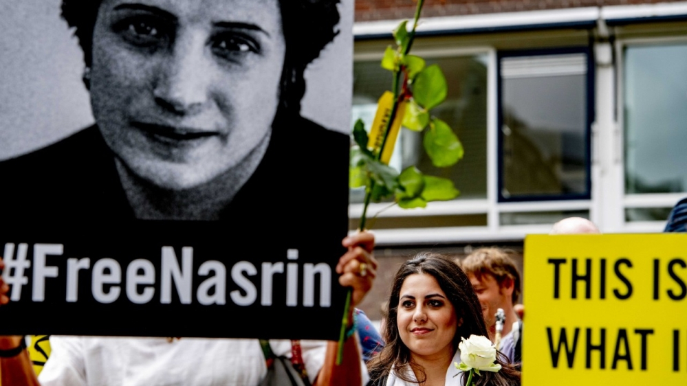 Nasrin Sotoudeh: Iran human rights lawyer ordered back to jail