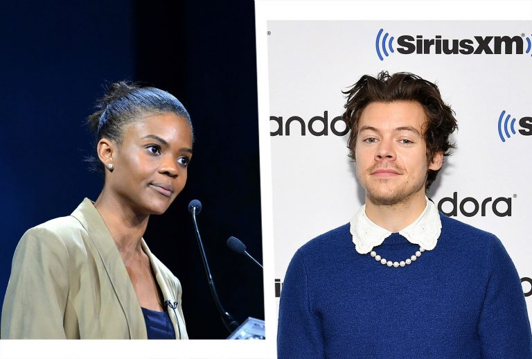 Harry Styles Drags Candace Owens For Questioning His Manliness After Rocking Dress On Magazine Cover!