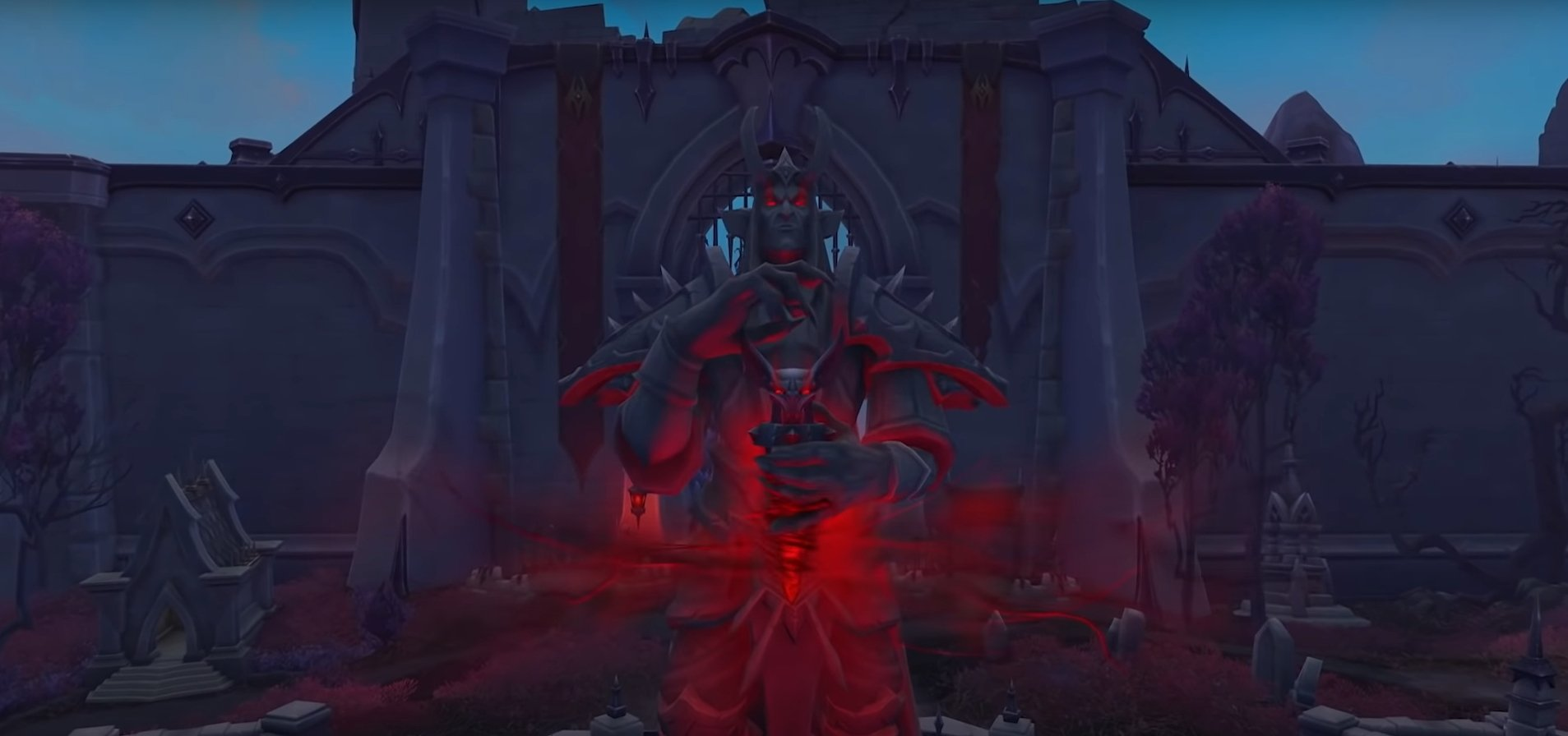 Obtaining Revendreth's Old Blanchy Mount In World Of Warcraft: Shadowlands