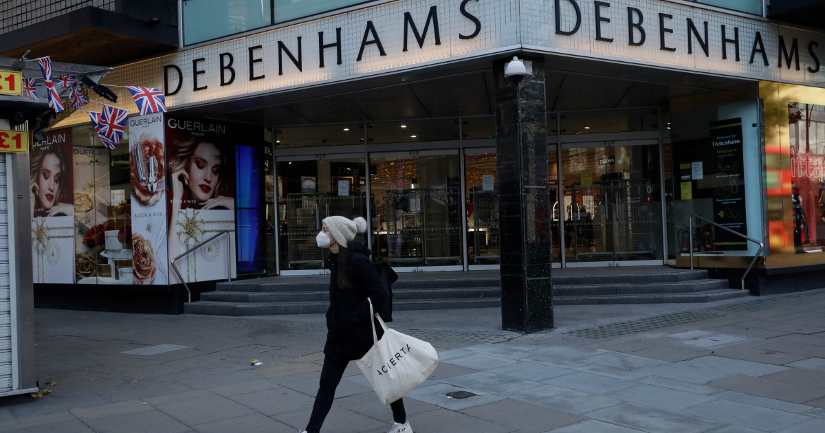 Some 25,000 UK retail jobs at risk from Debenhams, Arcadia woes