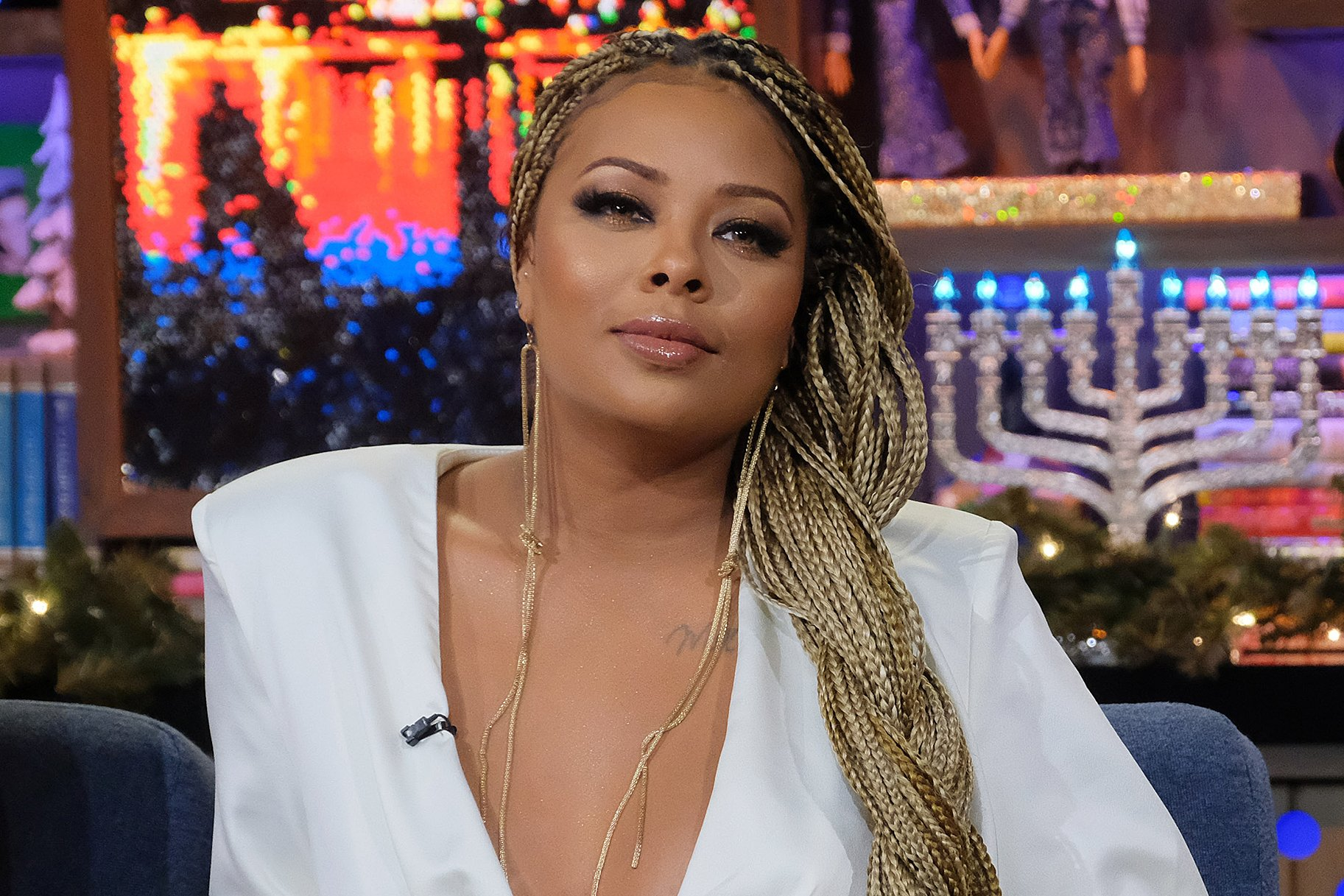 Eva Marcille Impresses Fans With Her Original Christmas Tree – See The Video