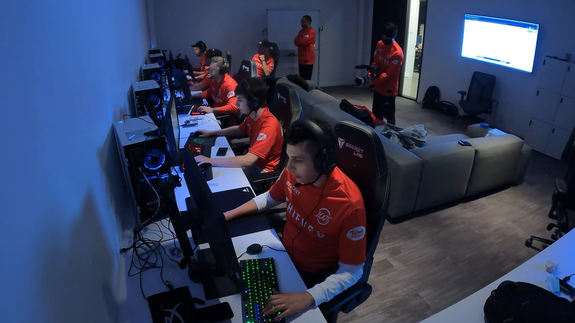 Come-from-behind Win Of 100 Thieves Over T1 Advances The Team To Semifinals Of The First Strike: NA