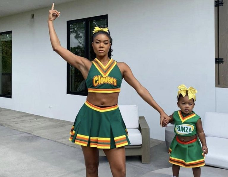 Gabrielle Union's Latest Video Featuring Baby Kaavia Has Fans In Awe
