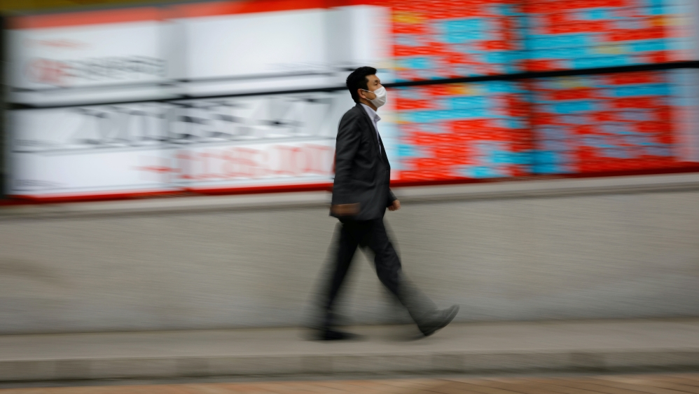 Asian shares recede on fear of new US-China tensions, virus surge