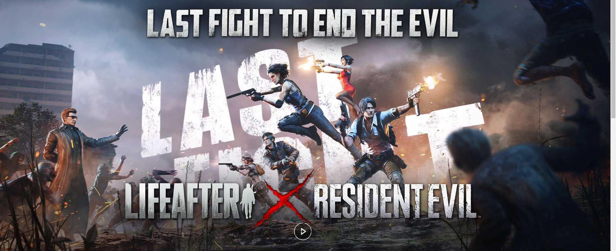 Second LifeAfter And Resident Evil Crossover Event Announced For December 3
